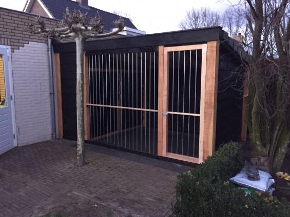 Op maat gemaakt hondenhok | Passie voor techniek - EchtWerk.nl