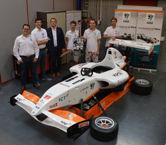 VDL Groep en studententeam InMotion slaan handen ineen voor ontwikkeling elektrische raceauto | Passie voor techniek - EchtWerk.nl