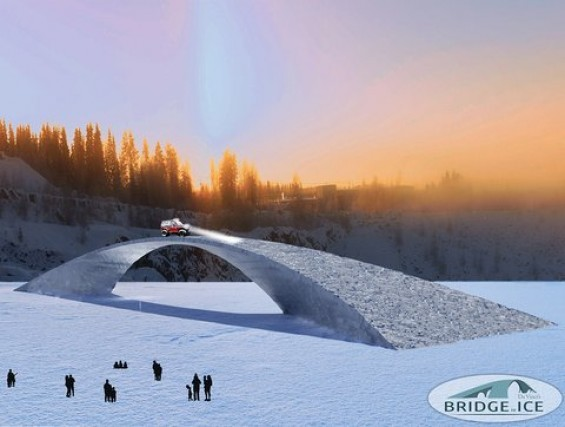 Studenten op weg naar Finland voor bouw van grootste ijsbrug ooit | Passie voor techniek - EchtWerk.nl