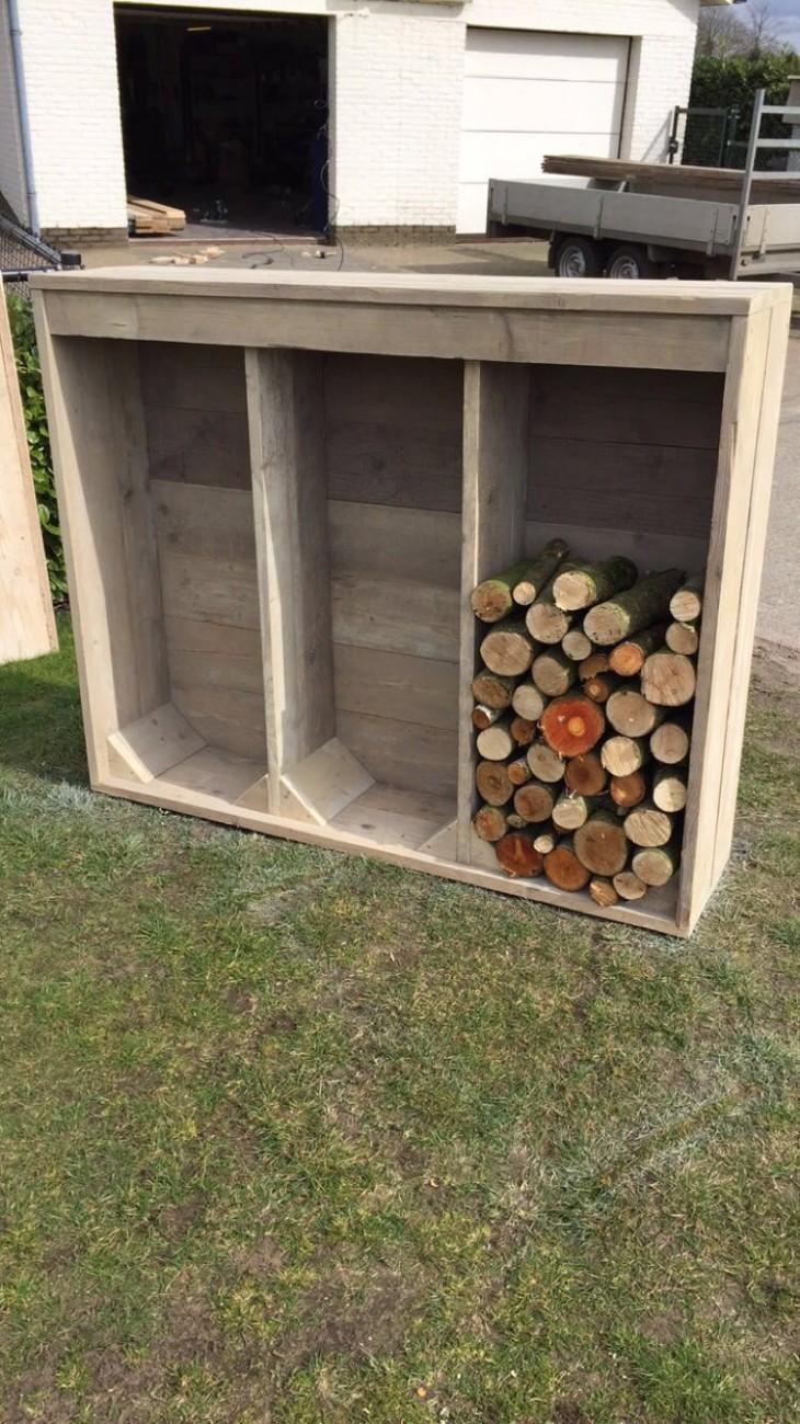 Een opslag kast voor hout   Passie voor techniek - EchtWerk.nl