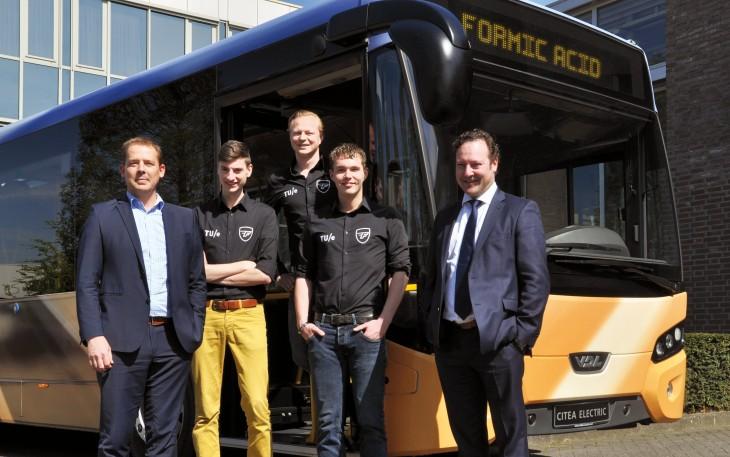 Ontwikkeling stadsbus die rijdt op mierenzuur | Passie voor techniek - EchtWerk.nl